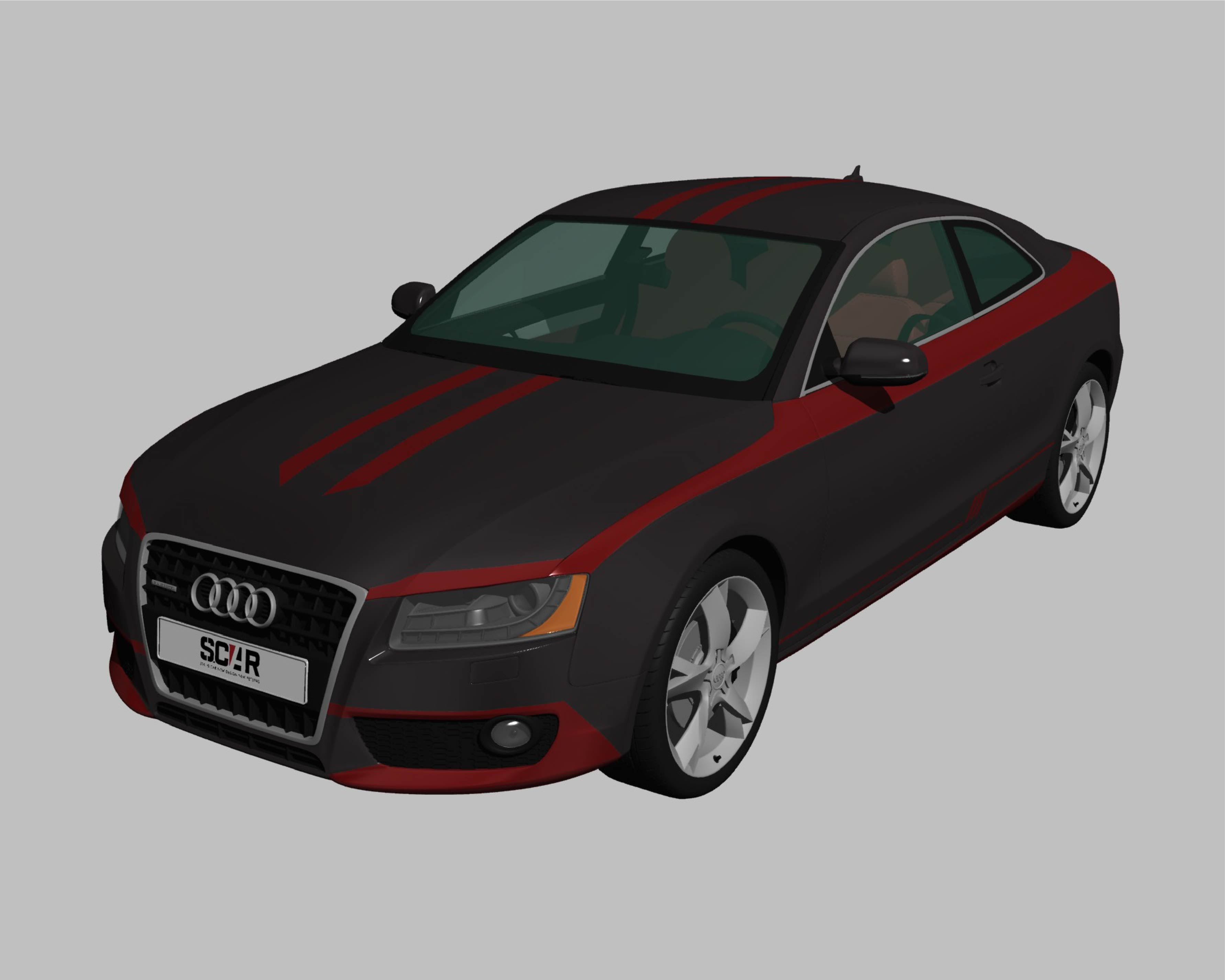 AUDI_A5_COUPE_2010/ カーラッピング #C1027
