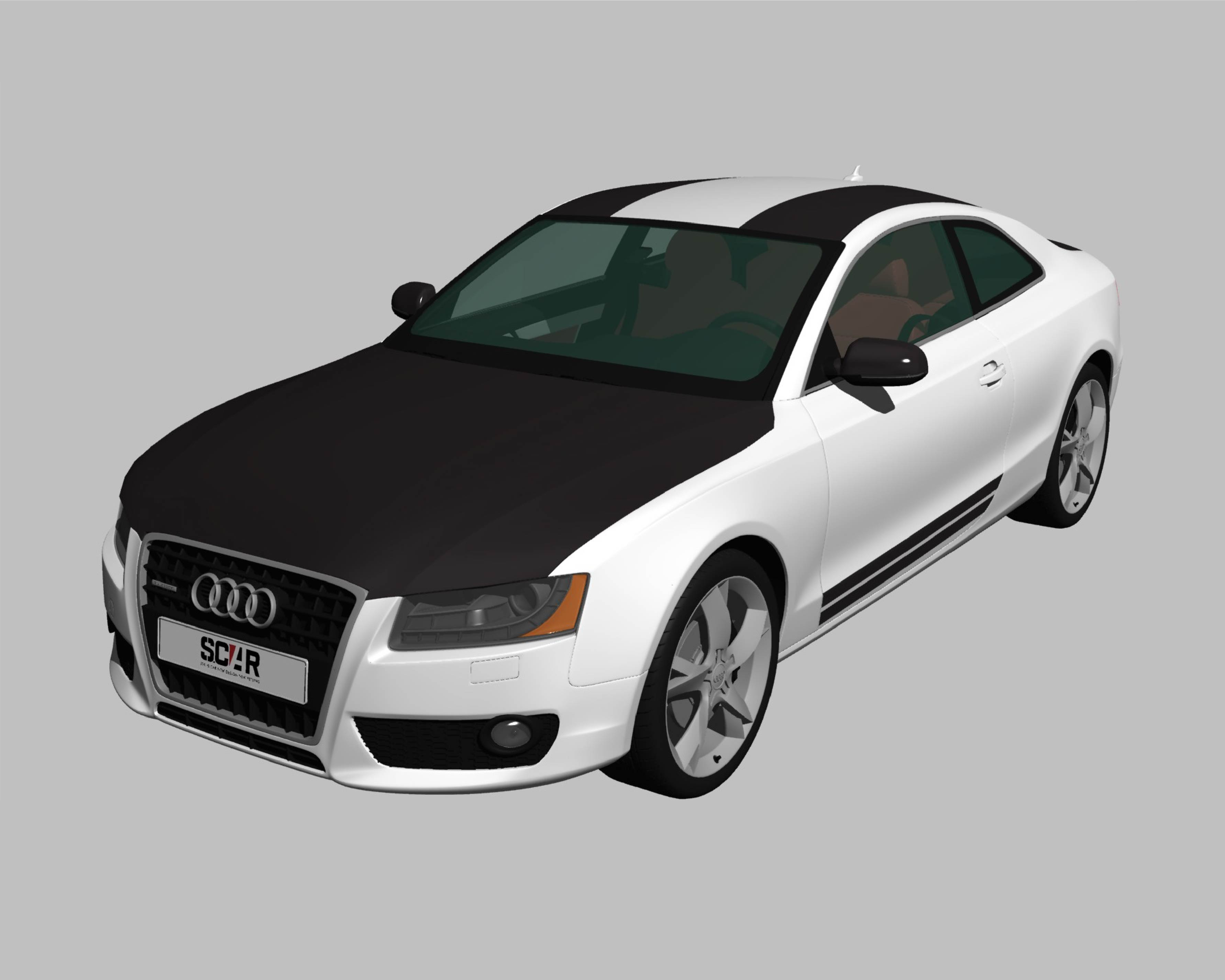AUDI_A5_COUPE_2010/ カーラッピング #C1028